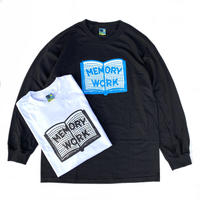Voyage / MEMORY WORK L.S TEE / WHITE,BLACK