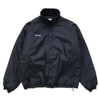 Columbia / Full Zip Nylon Jacket / Black / Used