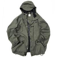 90s REI / W/Z Nylon Mountain Parka / Grey Khaki / Used