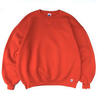 Made in USA / 90s Russell Authentic / Solid Sweat / Orange / Used