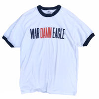 Made in USA / 80's Stedman / Trim Tee / White / Used
