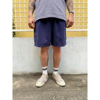Basic Edition / Cotton Easy Shorts  / Navy / Used