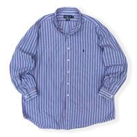 "90's Ralph Lauren / ""YARMOUTH"" Multi Striped B.D.Shirt / Used"
