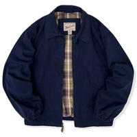 90's Woolrich / Cotton Lined Drizzler Jacket / Navy XL / Used