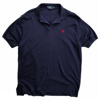 Polo by Ralph Lauren / One Point Logo Polo Shirt / Navy / Used
