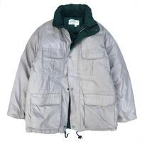 "90s Eddie Bauer / ""Ridge Line"" Goose Down Jacket / Beige × Green / Used"