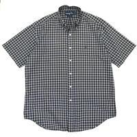 "Polo Ralph Lauren / Cotton B.D. Check Shirt""BLAKE"" / Navy × Yellow × White / Used"