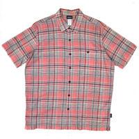 Patagonia / S/S Organic Cotton Check Shirt / Used