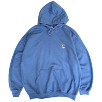 Color at Against Originals / Mister Embroidered Hoodie / Indigo