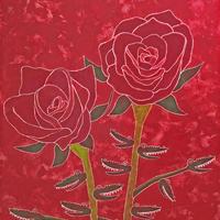 綺麗な薔薇にはワニがある