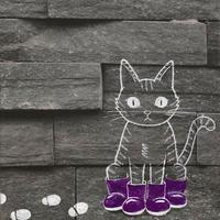 長靴を履かされた猫