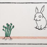 ウサギは考える「なぜ葉っぱはあんなに長いのか」と