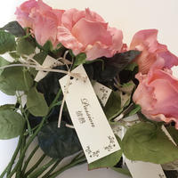 ダーズンローズ用造花薔薇12本セット