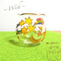 キャンドルホルダー ☆ 願い事は3つ ☆ 金魚鉢形
