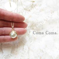 白蝶真珠のペンダント