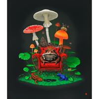 釜匠-両棲の王- ジクレー版画(Giclée Print) ED30
