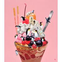 釜匠-ミックスベリーパフェ- ジクレー版画(Giclée Print) ED30