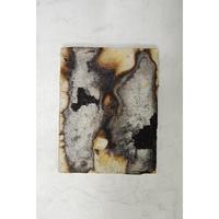 小橋順明 ハチと神様  サイズ:0号(180mm×140mm×25mm)パネルにステンレスメッシュ、陶土、顔料