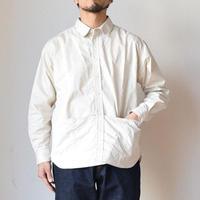 【休日を彩るシャツ】EEL Products  イール プロダクツ サンデーシャツ ナチュラル