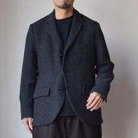 【冬のジャケットスタイルに!】EEL Products  イール プロダクツ ベルボーイジャケット チャコール/ブラウン