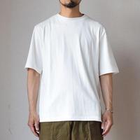 【最高級コットンで夏を品よく!】LA MOND  ラモンド スビンコットン 1/2スリーブ Tシャツ