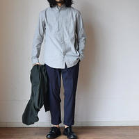 【今季も別注しました!】nisica ニシカ ボタンダウンシャツ 杢グレー