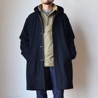 【新色ネイビー登場!】LA MOND  ラモンド イングランド ラムウール オーバーコート ブラック/ネイビー