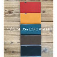 """""""所作"""" SHOSA LONG WALLET ロングウォレット ブラック/ブラウン/キャメル/ネイビー/レッド"""