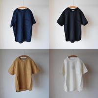 【3シーズン目突入の安定感!】Re made in tokyo japan フレンチリネン リラックスTシャツ  ホワイト/ネイビー/ブラック/ベージュ