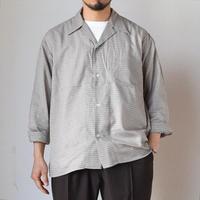 【夏の長袖シャツの本命!】EEL Products  イール プロダクツ 風鈴シャツ ブラウン