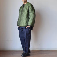 【今回はデッド&プチリメイク!】MILITARY DEADSTOCK  US ARMY M-65 LINER JACKET WITH BUTTON