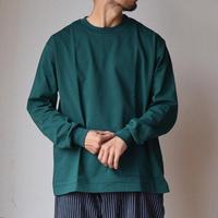 【イチオシはグリーン!】MANUAL ALPHABET OVER SIZED TEE オーバーサイズ ロングスリーブTシャツ グリーン/ホワイト/ブラック/ベージュ
