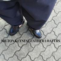 MILTON KEYNES LEATHER LOAFFERS ミルトンキーンズ レザーローファー ブラック/ダークブラウン