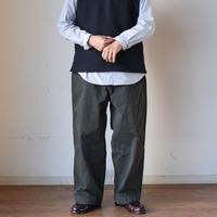 【サンダルとの相性抜群!】EEL Products  BOSTON PANTS イール プロダクツ ボストンパンツ チャコール/ブルー