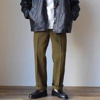 MILITARY DEAD STOCK イギリス軍 ドレスパンツ オリーブブラウン