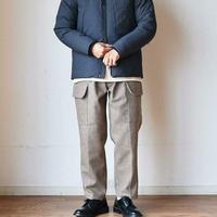 【今季はセミワイドシルエット!】STILL BY HAND スティルバイハンド  ウール カーゴパンツ ベージュ/チャコール/ブラック