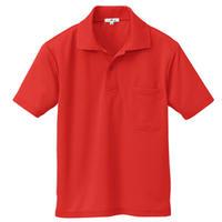 半袖ポロシャツ(男女兼用)  レッド 10579009-