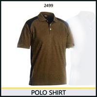 ポロシャツ カーキ/ブラック 3324-2499