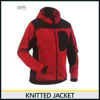 ニットジャケット レッド/ブラック 8219-5699