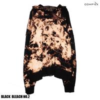 COMP®︎EX / OLD COMP®︎EX INSIDEOUT HOODIE  / BLACK _ BLEACH NO.2