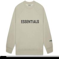 ESSENTIALS / BOXY LOGO CREW SWEAT 20SS