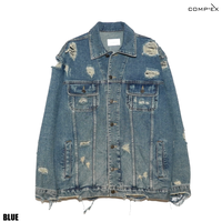COMP®︎EX / 80's COMP®︎EX DAMAGE DENIM JACKET