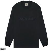 ESSENTIALS / BOXY LOGO LS TEE 20SS