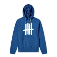 Jumbo logo Hoodie  blue