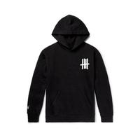 Small logo Hoodie  black
