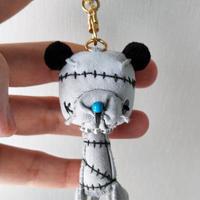 ベアーキーホルダー(stitch)