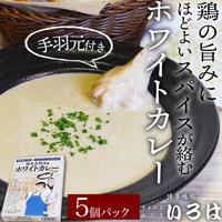 [送料込]~博多水炊き風~ ホワイトカレー(5個パック)【いろは】