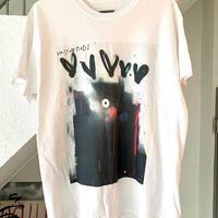 RYUJI KAMIYAMA / 神山隆二 / ラットフェイス / Tシャツ / ホワイト