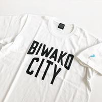 BIWAKO CITY TEE  / ビワコシティ / Tシャツ / ホワイト
