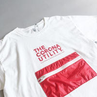 CORONA / PACKABLE POCKET TEE / WHITE×RED / コロナ / パッカブルポケットTシャツ / ホワイト×レッド